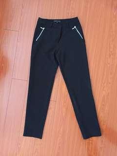 Dynamite Black Trousers Size 0