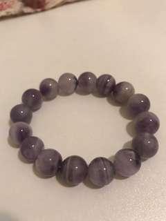 靚色大顆 紫水晶手串 招貴人 提升智慧 提升靈性