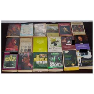 Assorted Books (Mass Market Paperbacks / MMPB)