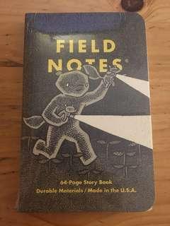 Field notes 限量筆記本 Haxley 冒險故事(一組兩本)