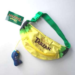 Original Disney Tarzan Banana Waist Bag/ pouch