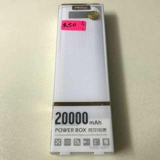 PRODA Power Bank 20000mAh