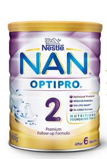 Nan Optipro Stage 2 (400g) x 2no
