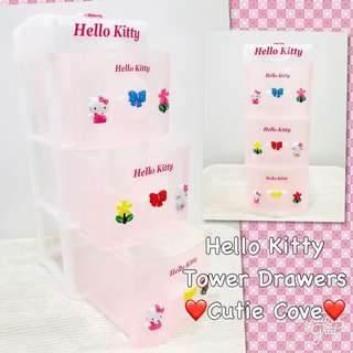 *NEW IN IN SG* Hello Kitty Tower Drawera