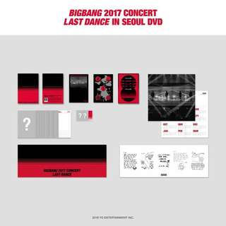 【代購】BIGBANG LAST DANCE IN SEOUL DVD BLURAY GDRAGON