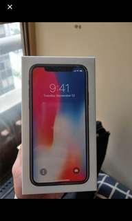 拍賣 蘋果iPhone x一支 有確定我在續約