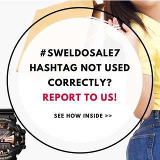 Report Violations: Sweldo Sale 7