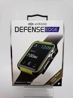 Apple Watch 42mm. X-doria Case Lemon Green