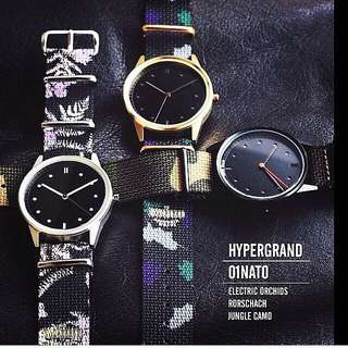 Hypergrand watch by the watch co 100%