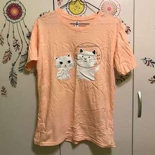 🚚 粉色貓咪T