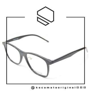 Frame Kacamata Original Paket Free Gratis Lensa Merk POLAROID D301 807 Plastik Kotak