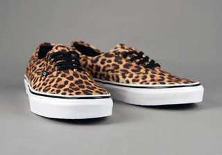Vans authentic leopard black brown (Rare Item)