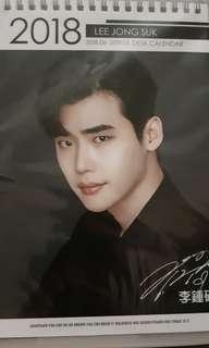 Lee Jongsuk Photo Calendar