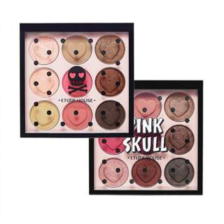 SALE Etude House Pink Skull Color Eyes Eyeshadow Palettes