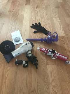 T3 Tourmaline Hair Dryer, Diffuser, Straightener, and curling wand