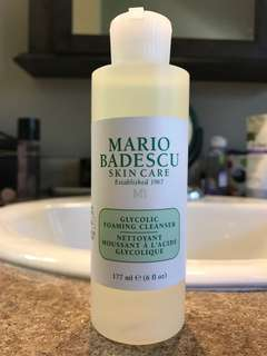 Mario Badescu- glycolic acid cleanser brand new