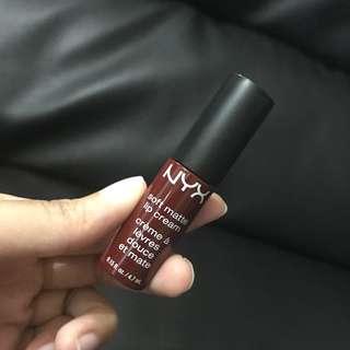 Nyx soft matte lip cream madrid