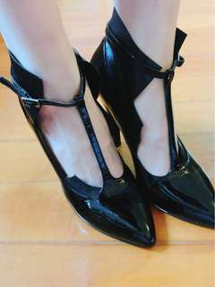 MMM heels black 38 masion martin margiela