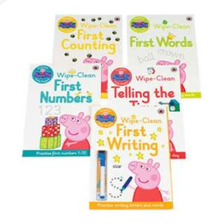 Peppa Pig: Wipe-Clean Collection - 5 Books (一套五本)