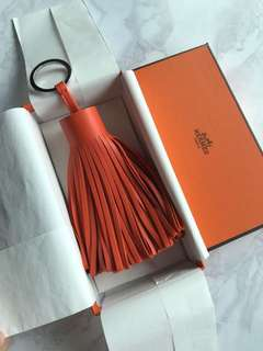 Hermes Carmen Alto Orange Poppy