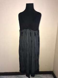 CK Black and grey dress