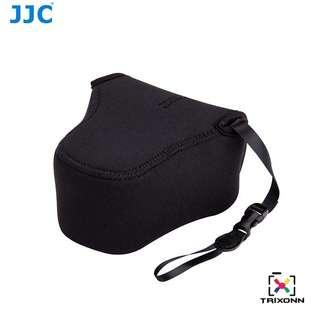 JJC OC-F2BK Black Neoprene Mirrorless Camera Case for Fujifilm X-T10 X-A3 CANON EOS M5 OLYMPUS E-M10II E-M5II Camera