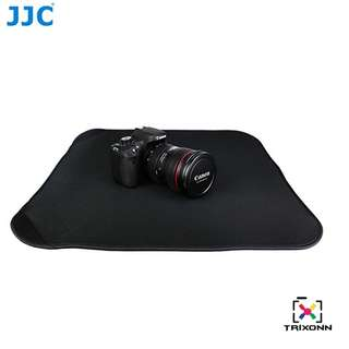 "JJC OZ-1BK Neoprene Black Square Protective Wraps 20 X 20"" For Camera DSLR"