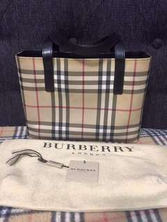Authetic Burberry Novacheck Handbag