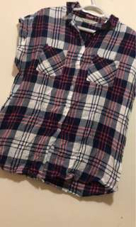 Bluenotes plaid top