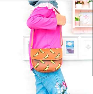 Slingbag Banana Tas Hits Jaman Now Sling bag Banana