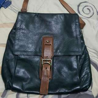 Authentic Prada Sling Bag Leather