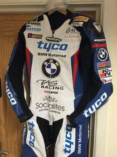 BMW Motorbike Leather Racing Suit