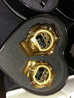 Couple G-shock GOLD