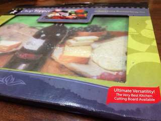 Tempered Glass Chopping / Cutting Board & Serving Tray