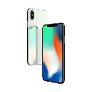 Iphone X 64Gb Silver kredit proses cepat dan mudah