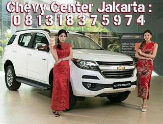 Free 4x Angsuran All New Trailblazer LTZ Diesel Turbo 2017