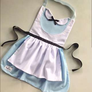 Inspired Alice in Wonderland Apron