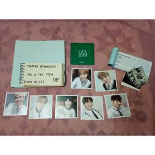 BTS 3RD MUSTER PHOTO ALBUM + 7 PCS MINI PHOTO FULL SET