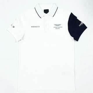 HACKETT AMR Contrast Left Sleeve Polo