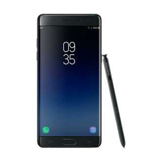 Samsung Galaxy Note FE Black kredit tanpa kartu kredit