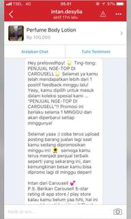 🎉Thank You Carousell🎉