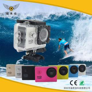 🚚 HD防水運動型DV