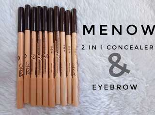 MeNow 2in1 concealer & eyebrown