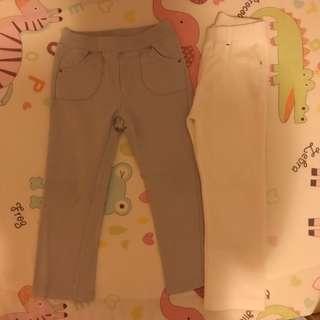 Uniqlo Cut & Sewn Pants (2 pairs)