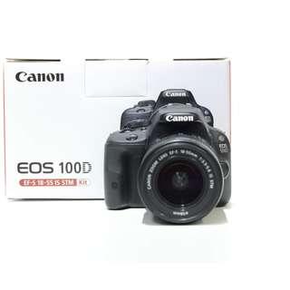 Canon EOS 100D DSLR with 18-55mm STM Kit Lens