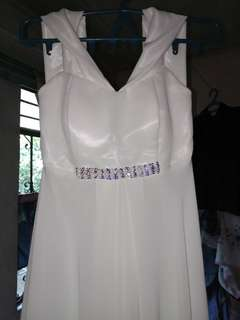 White Gown Buy or Rent