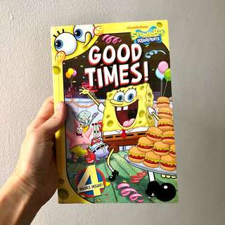 Spongebob Book - Good Times (4 books inside)