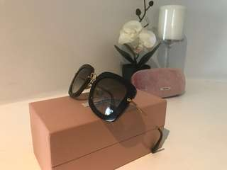 Almost new authentic Miu Miu sunglasses