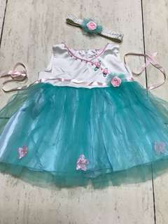 12-18mo white tosca dress