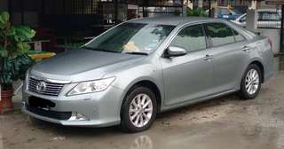 SAMBUNG BAYAR/CONTINUE LOAN  TOYOTA CAMRY G SPEC 2.0 AUTO YEAR 2014 MONTHLY RM 1613 BALANCE 4 YEARS ROADTAX AUGUST 2018 ELECTRIC SEAT TIPTOP CONDITION  DP KLIK wasap.my/60133524312/camry